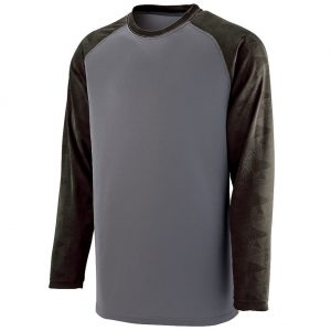 Augusta Men's Fast Break Long Sleeve Tee
