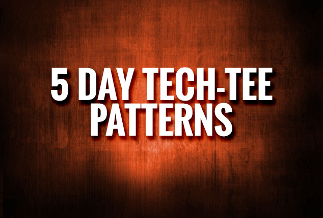 5 Day Tee Patterns