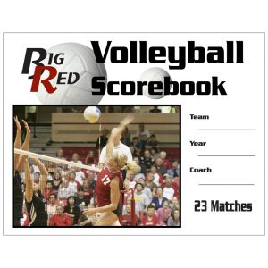 Worldwide Sport Supply Volleyball Scorebook