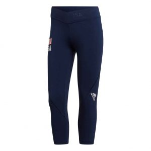 Adidas Women's USA Alphaskin Capri Tight