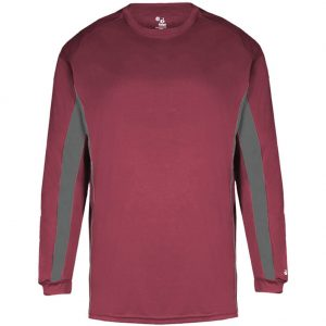 Badger Men's Mens Drive Tech Long Sleeve Shirt
