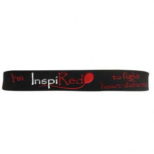 Red Balloon 4 Heart Defects Wristband
