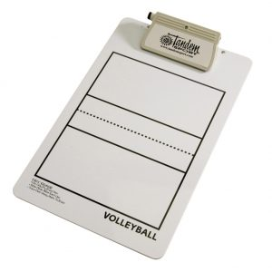 Tandem Coaches Deluxe Volleyball Clipboard