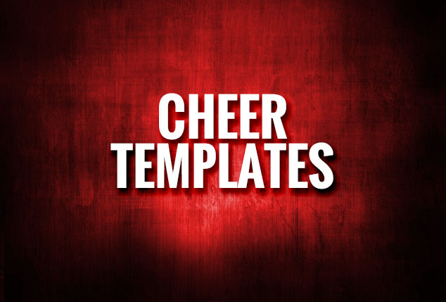 Cheer Templates