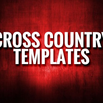Cross Country Templates