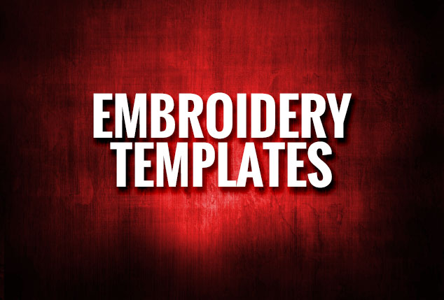 Embroidery Templates