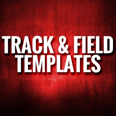 Track and Field Templates